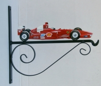 Formula 1, painted -also available as weathervane