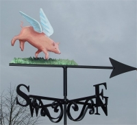 Pigs Might Fly, painted